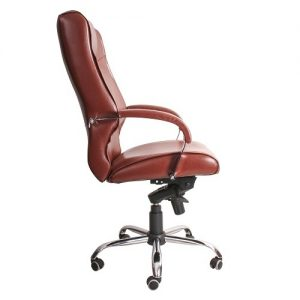Офисное кресло руководителя Verona Ch1 WRS PU07 (вид сбоку) купить в Бресте, Минске у производителя мебели БЕЛС