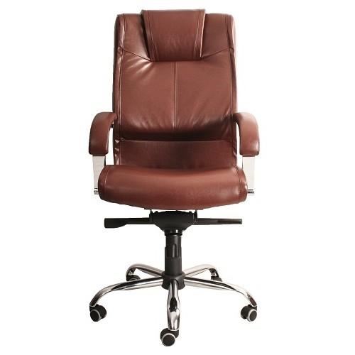 Офисное кресло руководителя Verona Ch1 WRS PU07 (вид спереди) купить в Бресте, Минске у производителя мебели БЕЛС
