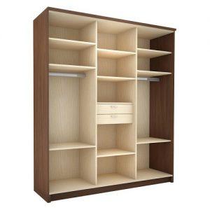 Шкаф-купе 3 дверный в Бресте купить/заказать у производителя мебели БЕЛС