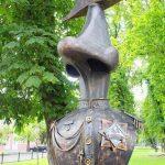 Нос по улице Гоголя Брест фото
