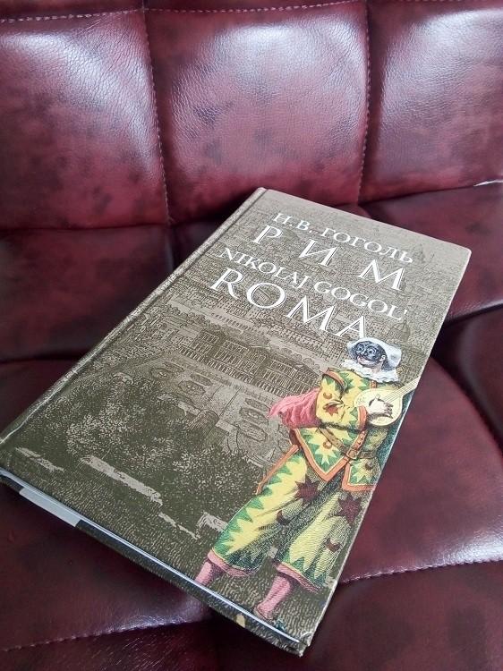 Книга Гоголя на кресле БЕЛС фото 1