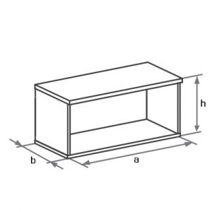 Антресоль к шкафу DH1-021 схема