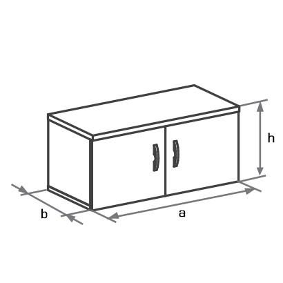 Антресоль к шкафу DH1-022 схема