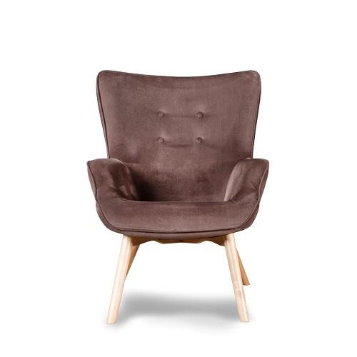 Кресло Граф коричневый купить в Бресте, Минске у производителя мебели БЕЛС