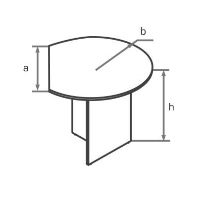 Приставка (брифинг) для стола DK100 схема