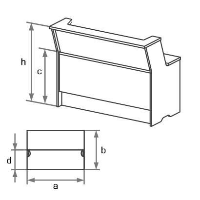Ресепшн GR1-081,121,141 схема