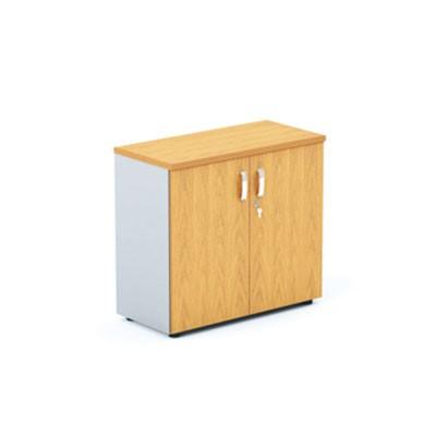 Шкаф офисный низкий с глухими створками DH2-022 купить/заказать в Бресте, Минске, РБ у БЕЛС (производитель мебели РБ)