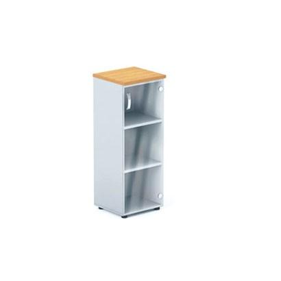 Шкаф офисный средней высоты (стеклянная створка) DH3-004 купить/заказать в Бресте, Минске, РБ у БЕЛС (производитель мебели РБ)