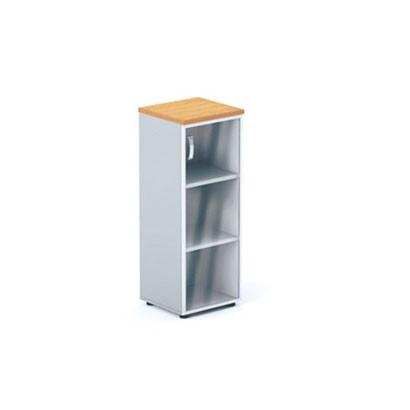 Шкаф офисный средней высоты (стеклянная створка) DH3-005 купить/заказать в Бресте, Минске, РБ у БЕЛС (производитель мебели РБ)