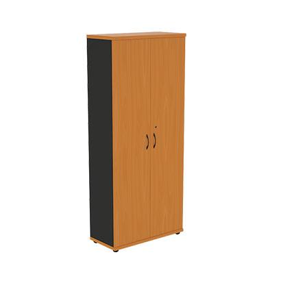 Шкаф-гардероб офисный двухстворчатый с глухими створками G5S05 Моно-Люкс купить/заказать в Бресте, Минске, РБ у БЕЛС (производитель мебели РБ)