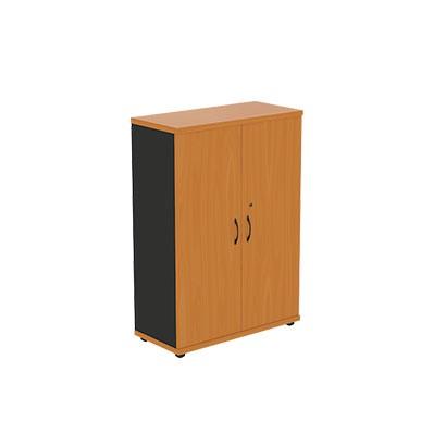 Шкаф офисный двухстворчатый с глухими створками R3S03 Моно-Люкс купить/заказать в Бресте, Минске, РБ у БЕЛС (производитель мебели РБ)