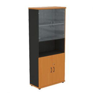 Шкаф офисный R5S12 Моно-Люкс купить/заказать в Бресте, Минске, РБ у БЕЛС (производитель мебели РБ)