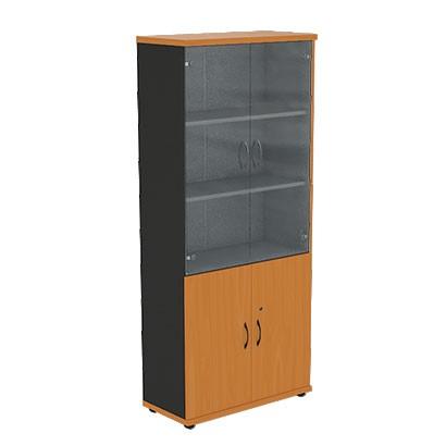 Шкаф офисный R5S72 Моно-Люкс купить/заказать в Бресте, Минске, РБ у БЕЛС (производитель мебели РБ)