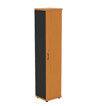 Шкаф офисный узкий R5W05 Моно-Люкс купить/заказать в Бресте, Минске, РБ у БЕЛС (производитель мебели РБ)