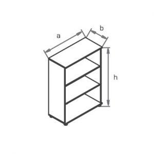 Шкаф-стеллаж R3S00 схема