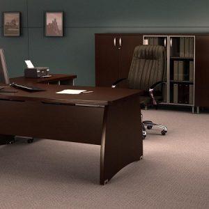 Стол руководителя DRT-180 в интерьере серия Бостон фото