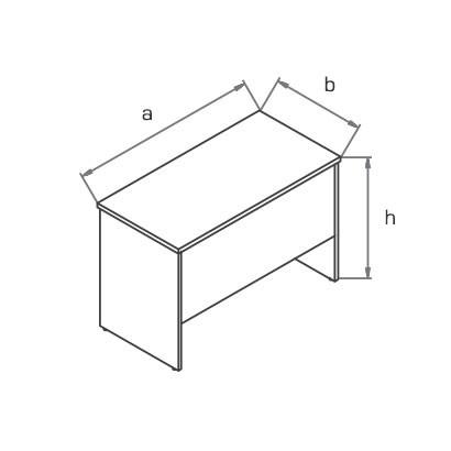 Стол приставной BP100 схема