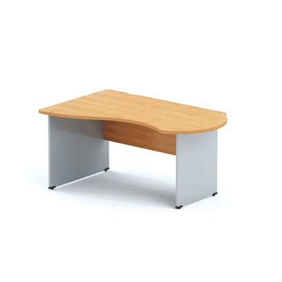 Стол офисный угловой асимметричный DK купить в Бресте, Минске, РБ у БЕЛС (производитель мебели РБ)