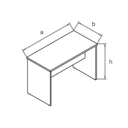 Стол приставной TP100 схема