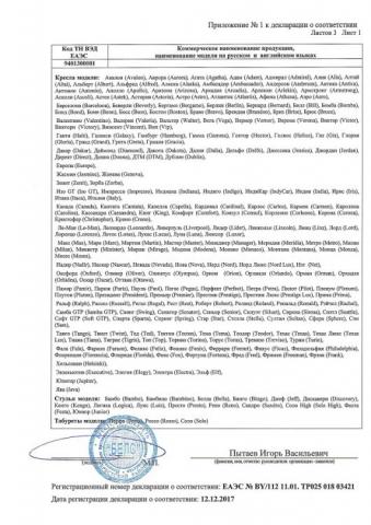 Декларация соответствия БЕЛС стр 2