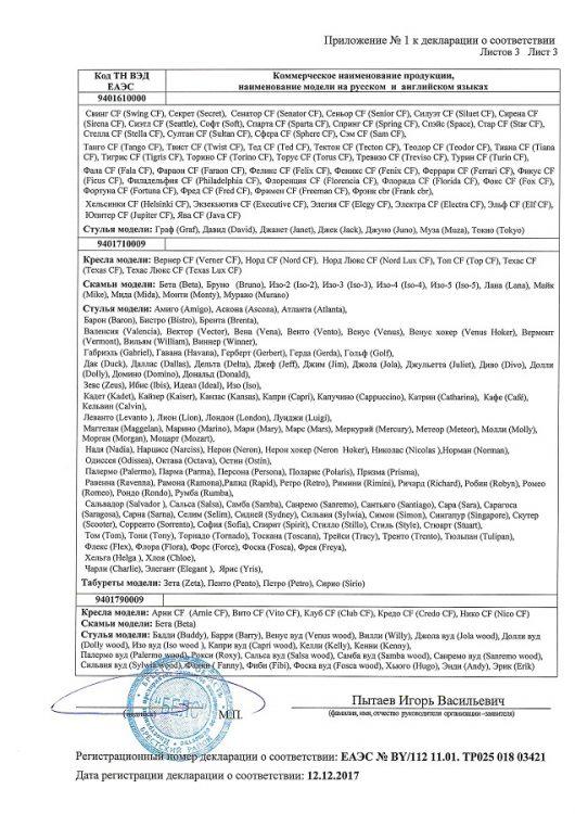 Декларация соответствия БЕЛС стр 4