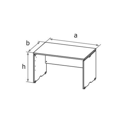 Стол симметричный MA1 схема