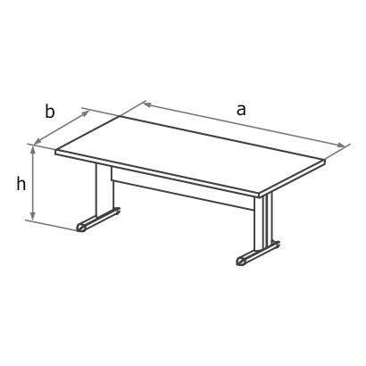 Стол симметричный MA3 схема