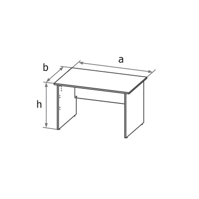 Стол симметричный MA5 схема