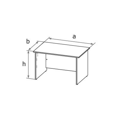 Стол симметричный MA6 схема