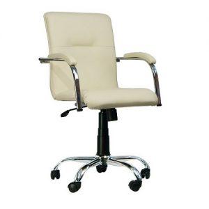 Кресло компьютерное Samba chrome gtpCh3 V18 бежевый купить в Бресте, Минске у производителя БЕЛС