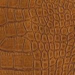 Структурированная экокожа PU14 Рыжий крокодил фото