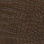 Структурированная экокожа SPU17 Коньяк-крокодил фото