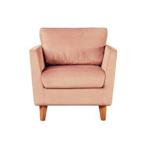 Кресло Токио люкс KN-27 ткань Кронос бежевый вид спереди