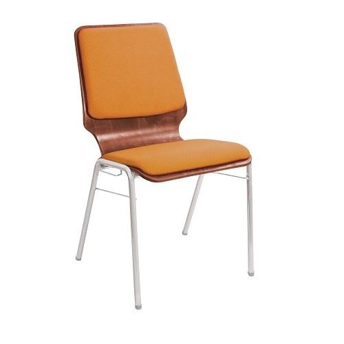 Барный стул Capri Silver AS09 1_031 оранжевый купить в Бресте, Минске у производителя мебели Белс