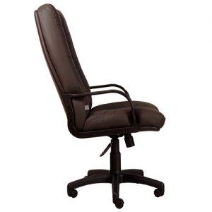 Офисное кресло для руководителя Minister PLN PU14 (вид сбоку) купить в Бресте, Минске у производителя мебели БЕЛС