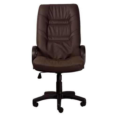 Офисное кресло для руководителя Minister PLN PU14 (вид спереди) купить в Бресте, Минске у производителя мебели БЕЛС