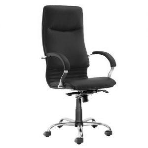 Офисное кресло руководителя Nova Steel Chrome SP-A