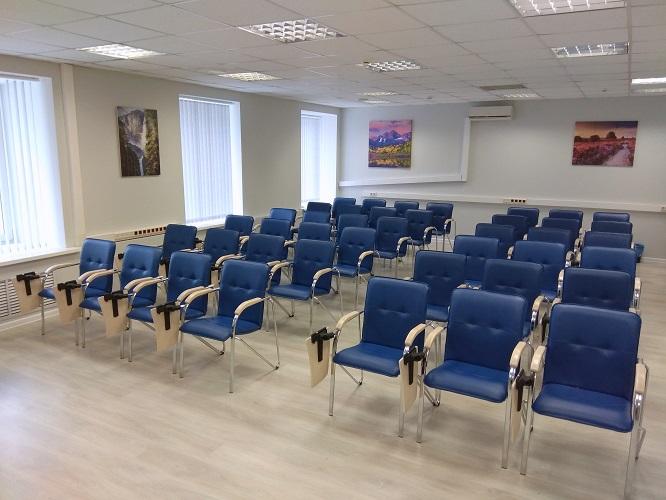 Стулья Самба хром ТЕ в конференц-зале МУИР (Москва) фото 1