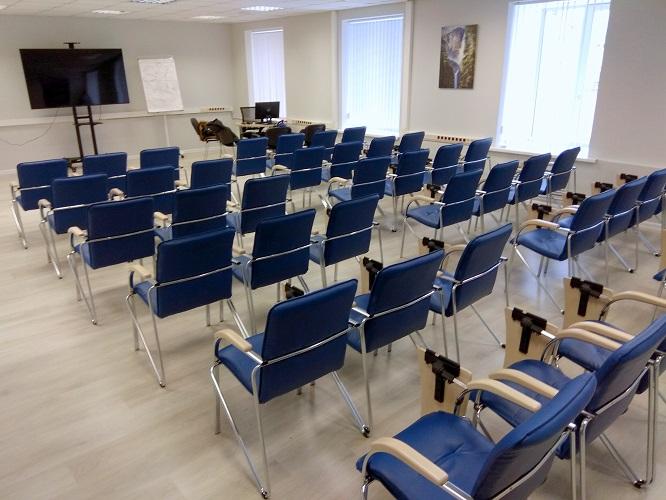 Стулья Самба хром ТЕ в конференц-зале МУИР (Москва) фото 2