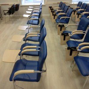 Стулья Самба хром ТЕ в конференц-зале МУИР (Москва) фото 3